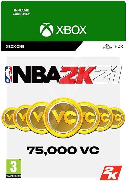 NBA 2K21: 75,000 VC - Xbox Digital - Herní doplněk