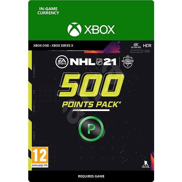 NHL 21: Ultimate Team 500 Points - Xbox Digital - Herní doplněk
