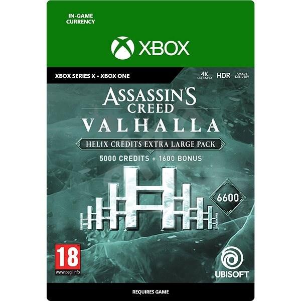 Assassins Creed Valhalla: 6600 Helix Credits Pack - Xbox Digital - Herní doplněk