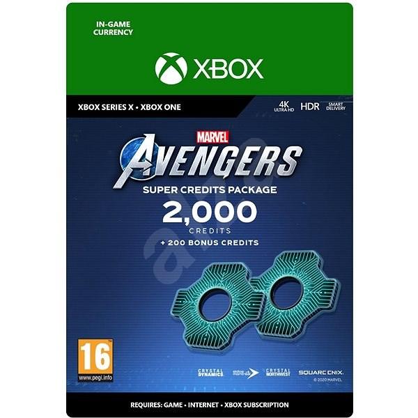 Marvels Avengers: 2,200 Credits Package - Xbox Digital - Herní doplněk