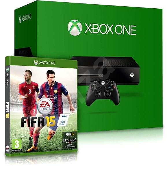 Microsoft Xbox One + FIFA 15 - Herní konzole
