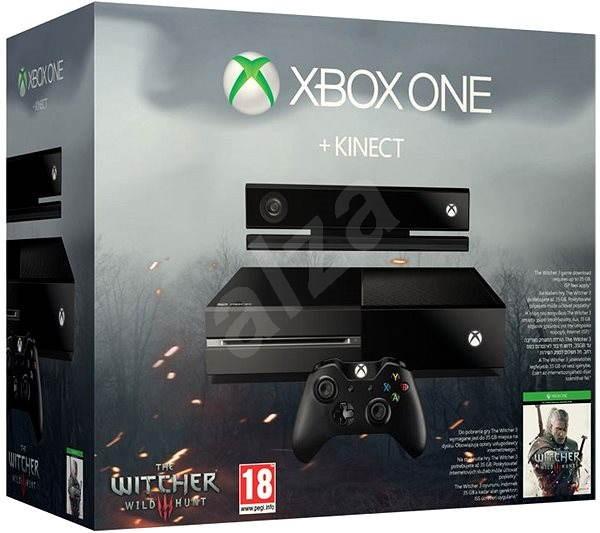 Microsoft Xbox One se senzorem Kinect + Zaklínač 3: Divoký Hon CZ + Dance Central Spotlight - Herní konzole