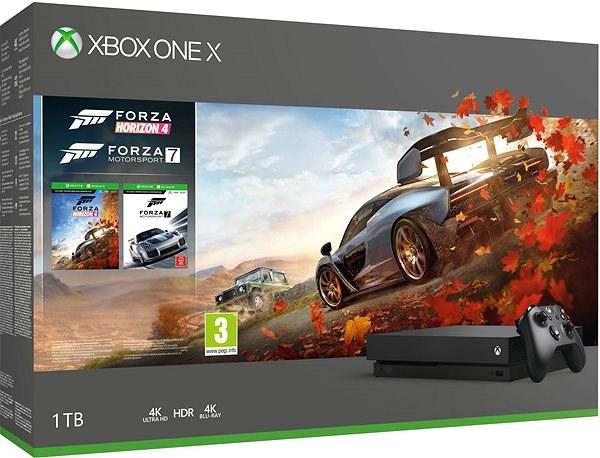 Xbox One X + Forza Horizon 4 + Forza Motorsport 7 - Herní konzole