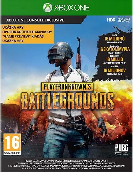 PlayerUnknowns Battlegrounds Preview - Xbox One - Hra pro konzoli