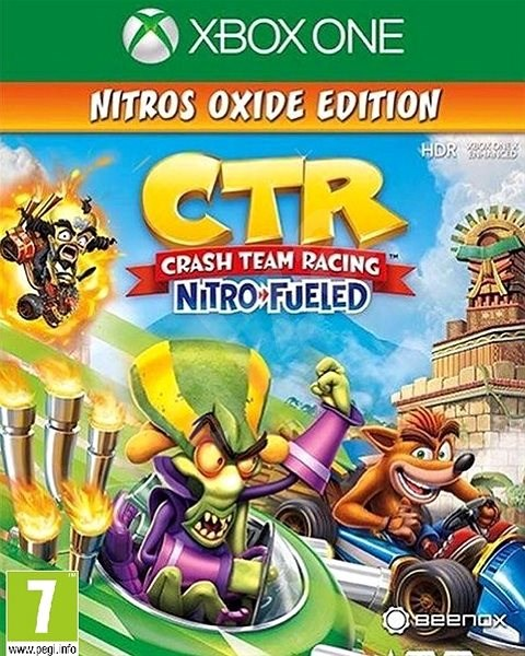Crash Team Racing Nitro-Fueled - Nitros Oxide Edition - Xbox One - Hra pro konzoli