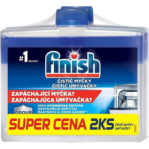 FINISH Čistič myčky 250 ml DUO - Čistič myčky