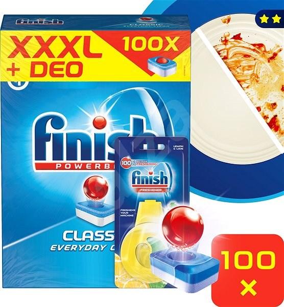 FINISH Classic 100 ks + DEO Lemon - Tablety do myčky