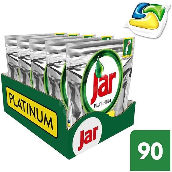 JAR Platinum All in 1  MEGABOX 90 ks - Tablety do myčky