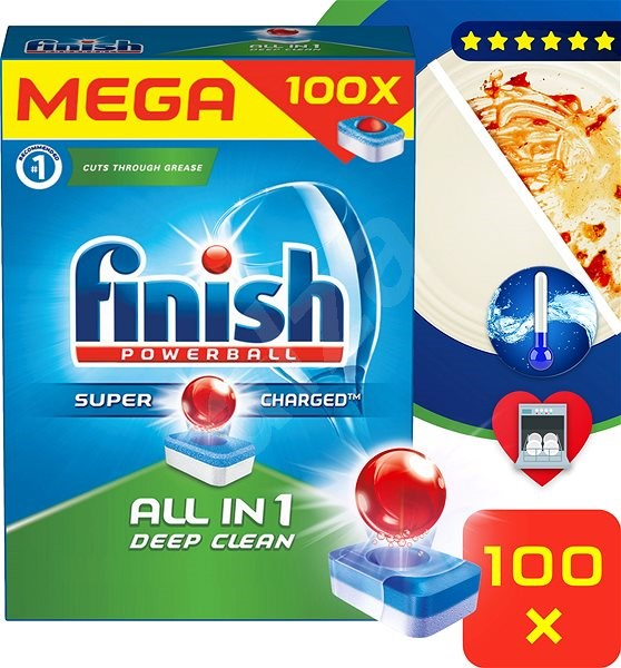 FINISH All-in-1 100 ks - Tablety do myčky  03437266f9