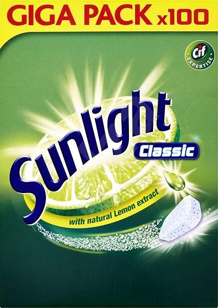 SUNLIGHT Classic 100 ks - Tablety do myčky