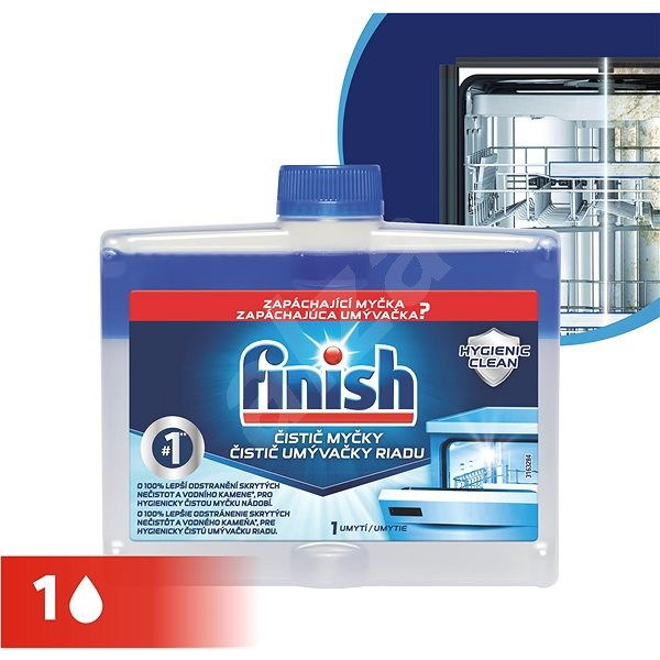 FINISH Čistič myčky 250 ml - Čistič myčky