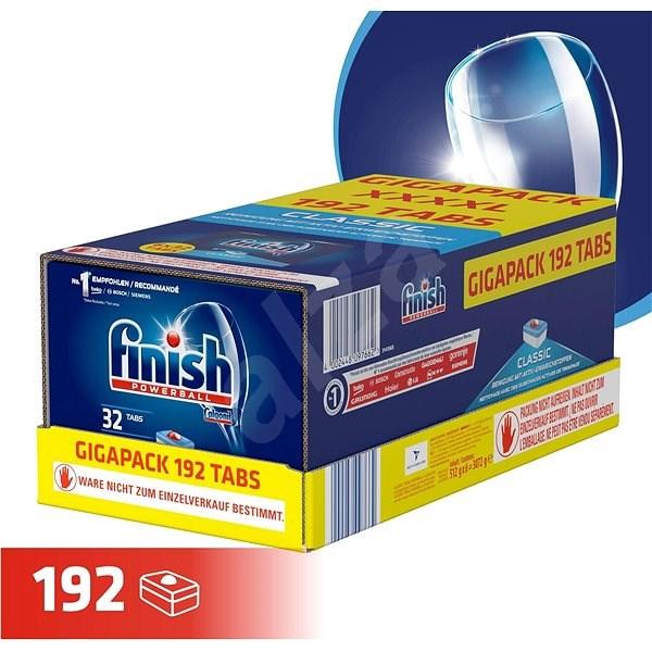 FINISH Classic Gigapack 192 ks - Tablety do myčky
