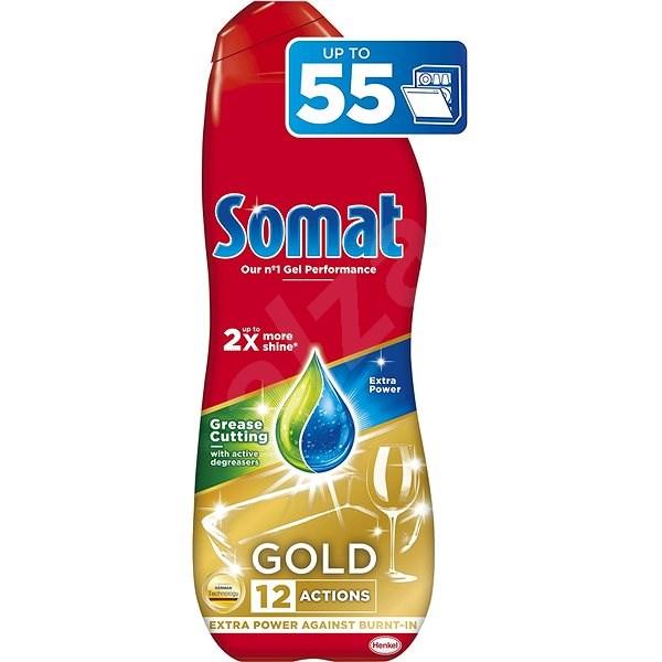 SOMAT Gold Grease Cutting 990 ml (55 dávek) - Gel do myčky