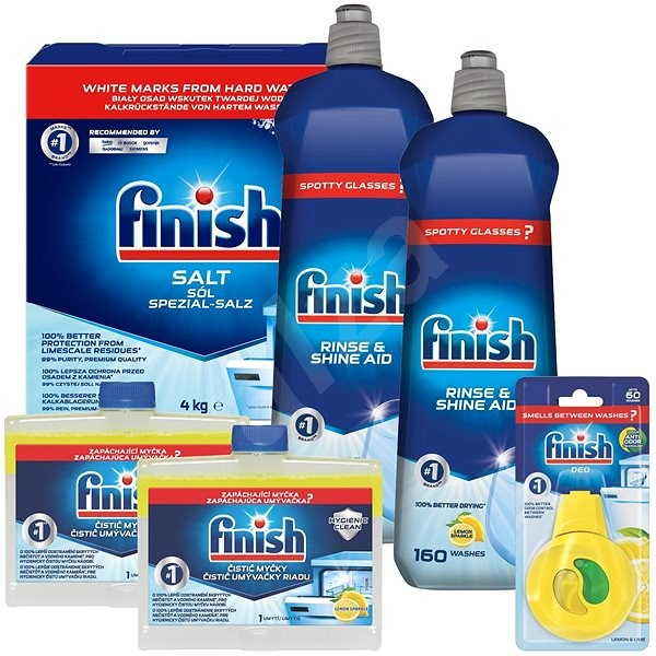 FINISH the best for your dishwasher - Toiletry Set
