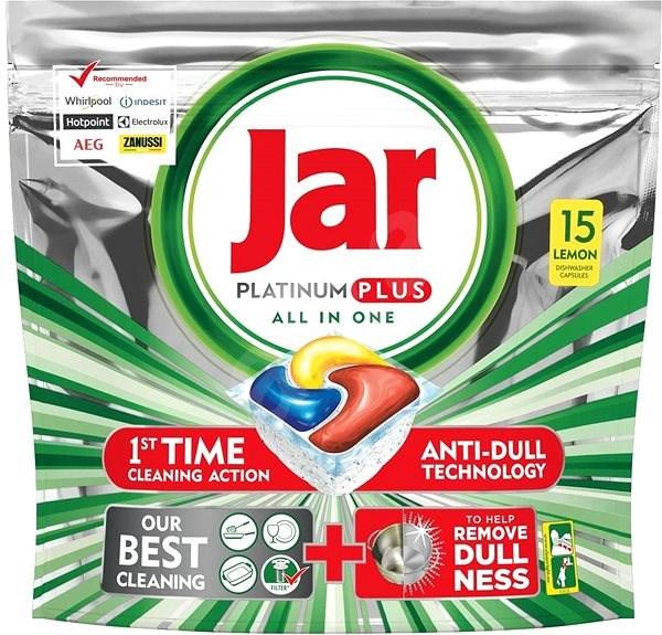 JAR Platinum Plus All in One 15 ks - Tablety do myčky