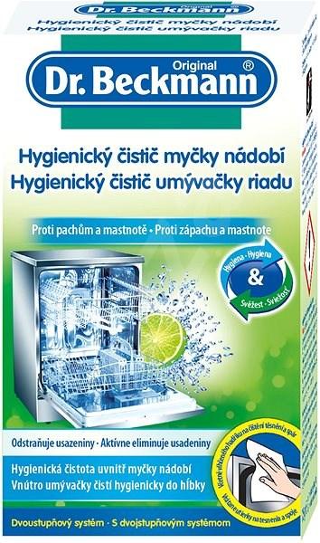 DR. BECKMANN Hygienický čistič myčky 75 g - Čistič myčky