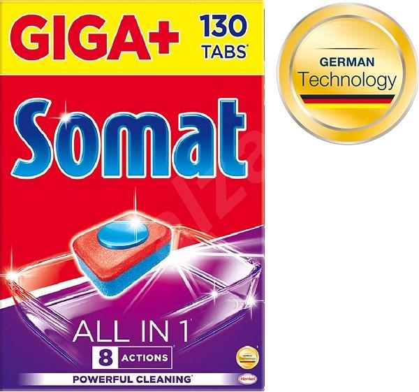 SOMAT All in 1 Lemon 130 ks - Tablety do myčky