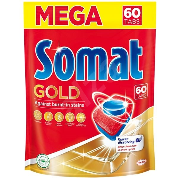 SOMAT Gold (60 ks) - Tablety do myčky