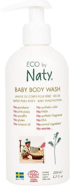 NATY ECO Baby Body Wash 200 ml - Dětské mýdlo