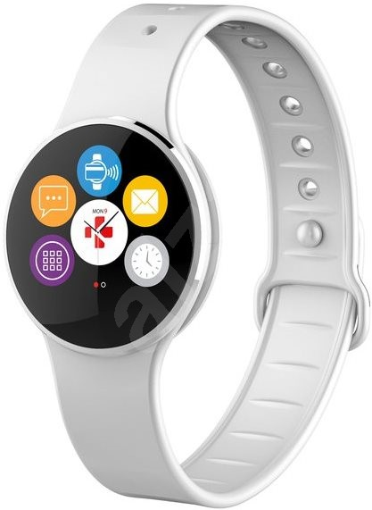 MyKronoz ZeCircle2 Silver White - Chytré hodinky