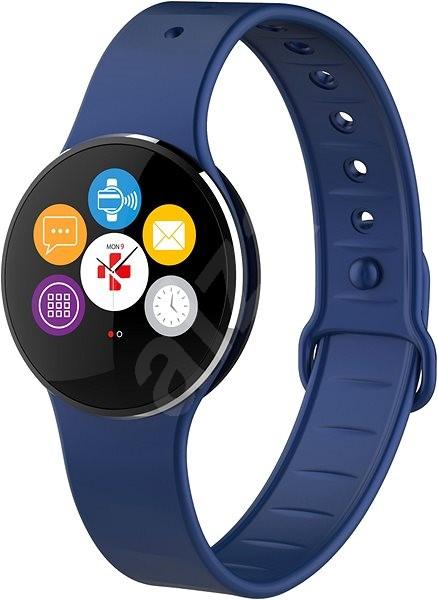 MyKronoz ZeCircle2 Blue - Chytré hodinky  2a92927ab9