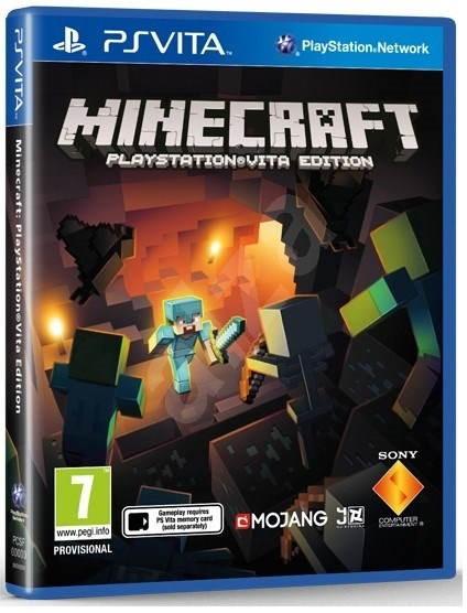 PS Vita - Minecraft VITA Edition - Hra pro konzoli