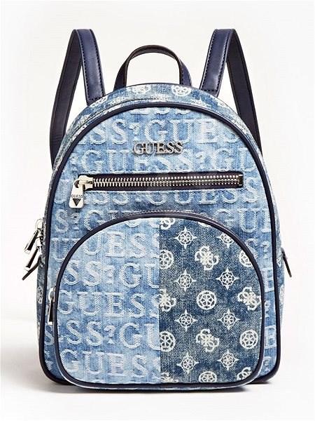 GUESS New Vibe Backpack Mini - Denim - Batoh