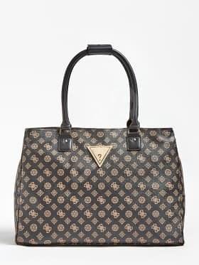GUESS Travel Bag Wilder Peony Weekender Bag - Brown - Cestovní taška