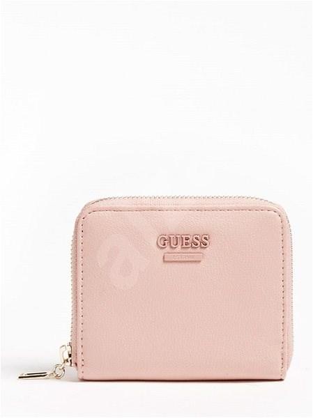GUESS Noelle Mini Wallet / Small Zip Around - Rosewood - Peněženka