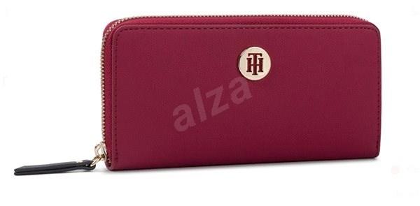 TOMMY HILFIGER Modern Hardware Large Zip-Around Wallet AW0AW07063 Purple - Peněženka