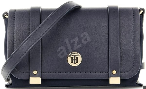 TOMMY HILFIGER The Elegant Crossover AW0AW07302 Navy Blue - Kabelka