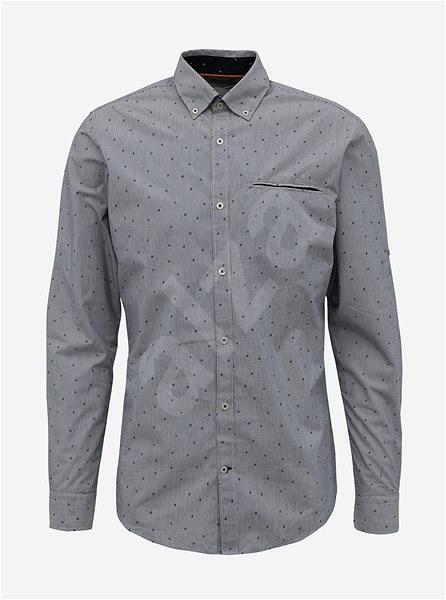 Šedá vzorovaná košile Jack & Jones Paris S - Košile