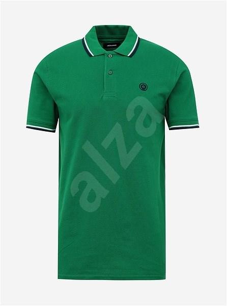 Zelené polo tričko Jack & Jones Noah S - Pánské tričko