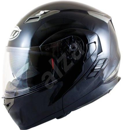 MT HELMETS Flux Solid (černá, vel. M) - Helma na motorku