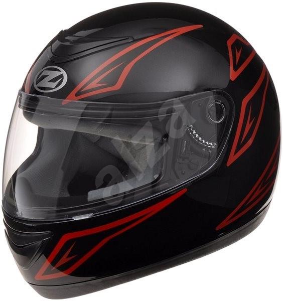 ZED K10 (černá/červená, vel. XS) - Helma na motorku