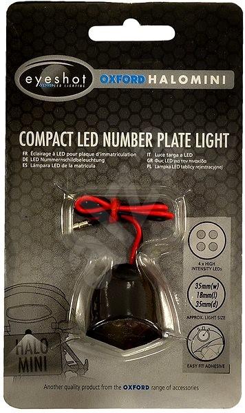 OXFORD univerzální osvětlení SPZ malé - LED osvětlení SPZ