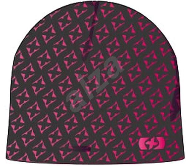 OXFORD čepice, (růžová/šedá) - Čepice