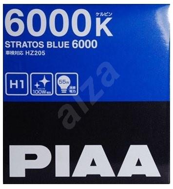 PIAA Stratos Blue 6000K H1 - studené bílé světlo s xenonovým efektem - Autožárovka