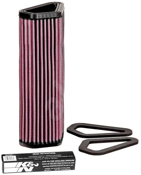 K&N DU-1007 pro motocykly Ducati - Vzduchový filtr