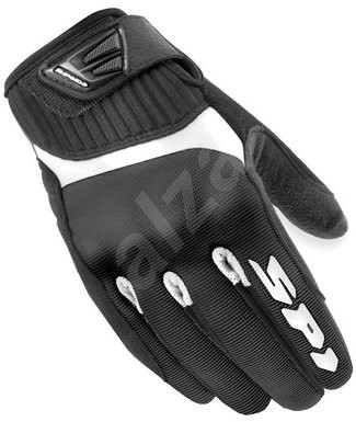 Spidi G-FLASH, (černé/bílé, vel. 2XL) - Rukavice na motorku