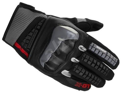 Spidi X-GT (černé šedé červené vel. 2XL) - Rukavice e6a2448d15