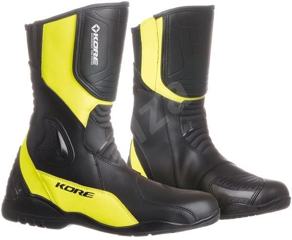 KORE Sport Touring černé žluté 41 - Boty na motorku e4907b537d