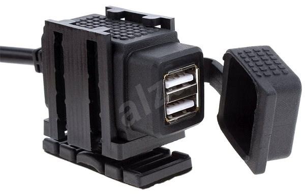 M-Style UN6 USB2 nabíječka / zásuvka  - USB zásuvka na motorku