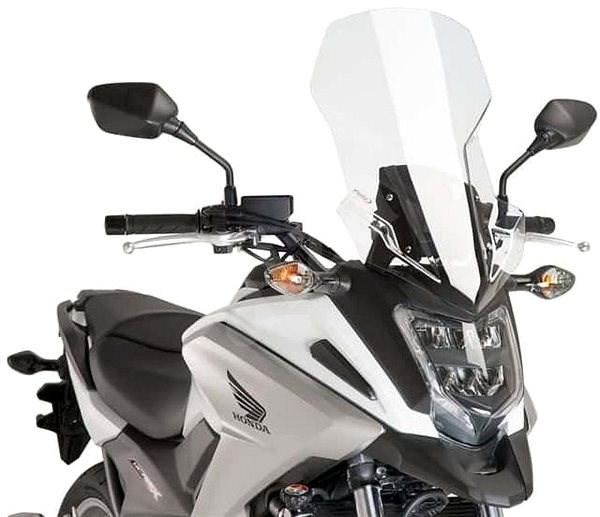 PUIG TOURING průhledný pro HONDA NC 750 X (2016-2019) - Plexi na moto