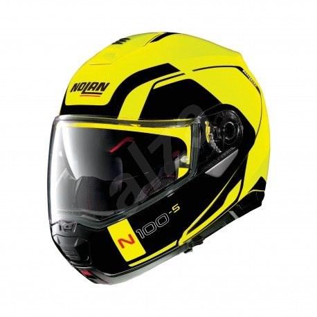 Nolan N100-5 Consistency N-Com Led Yellow 26 M - Helma na motorku