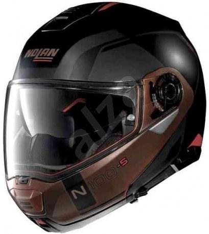 Nolan N100-5 Consistency N-Com Flat Black 28 XS - Helma na motorku