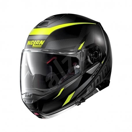 Nolan N100-5 Lumiére N-Com Flat Black 37 2XL - Helma na motorku