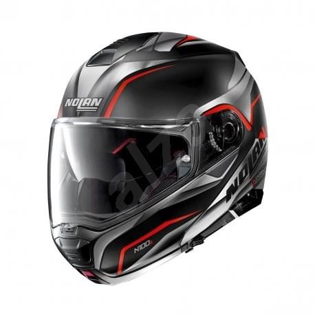 Nolan N100-5 Balteus N-Com Flat Black 42 2XL - Helma na motorku