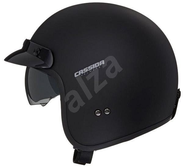 CASSIDA Oxygen (černá matná) - Helma na skútr