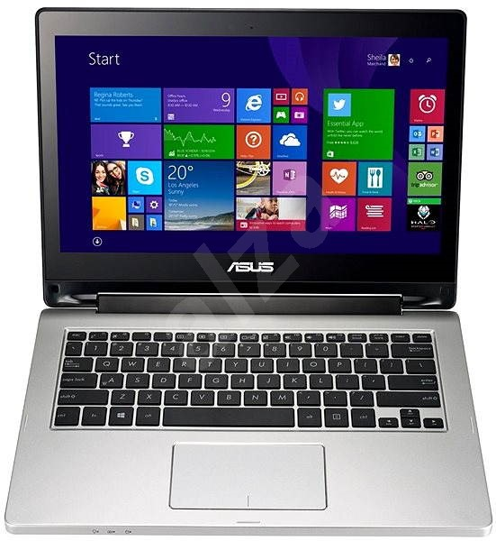 ASUS Transformer Book Flip TP300LA Touch kovový - Tablet PC